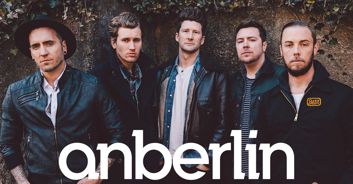 The Official Anberlin Website